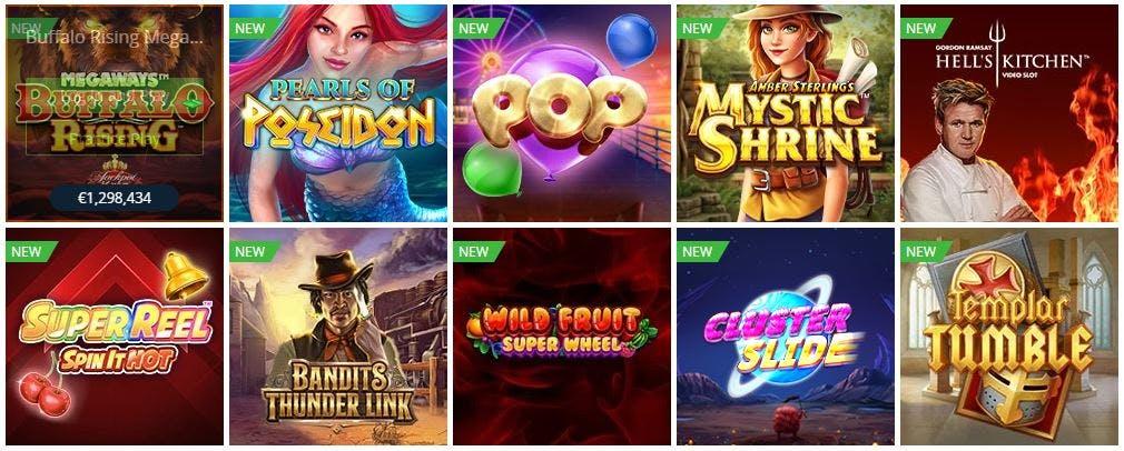 casino en gokspellen bij Betsson