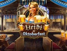 Heidi at the Oktoberfest logo