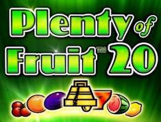 Plenty of Fruit 20 logo