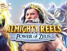 Almighty Reels Power of Zeus logo