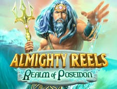 Almighty Reels - Realm of Poseidon logo