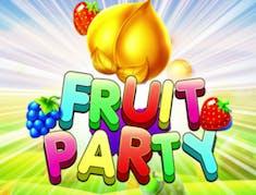 Fruit party logo